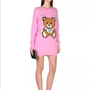 NWT Moschino Couture Bear Sweater Dress